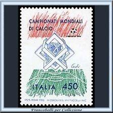 1989 Repubblica Campionato Mondiale Calcio Italia 90 **