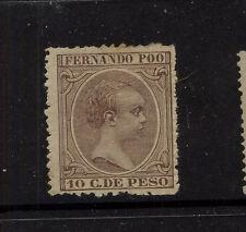 Fernando Poo  17      Mint       catalog  $325.00  RL0818