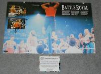 WILLIAM PERRY Signed WWF Wrestling Book Photo Wrestlemania Chicago BEARS WWE COA