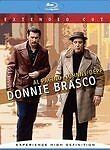 Donnie Brasco (Blu-ray Disc, 2007, Extended Cut)