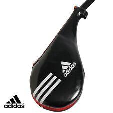 "adidas Taekwondo Kicking Pad Karate MMA Portable Strike Target Mitt-Double 18""BK"