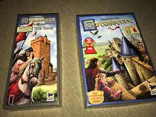 Carcassonne Grundspiel + Erweiterung Der Turm
