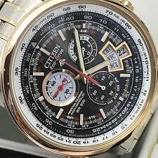 Citizen Eco Drive Limited Edition Old Stock Rose Gold Bezel HTF New in Box