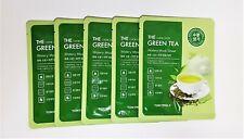 Tony Moly The Chok Chok Green Tea Watery Mask Sheet 5sheets