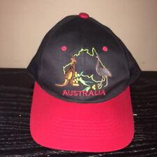 VTG Australia Snapback Hat Kangaroo One Size Fits All
