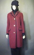Vintage 60s Genuine Imported Loden Wool Coat