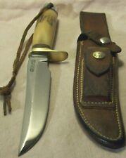 1969~VIETNAM~RANDALL MODEL 3-6 STAG~FIGHTING KNIFE COMBAT WEAPON w/ORIG. SHEATH~