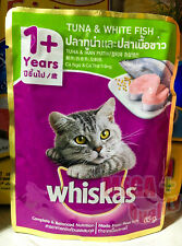 85g Whiskas Cat Wet Food Pouch Tuna Salmon Fish Nutritious Healthy Cat Lover