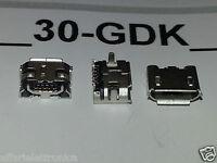 2 PEZZI CONNETTORE 5 PIN RICARICA PORTA jack Micro USB CARICA X TABLET MEDIACOM