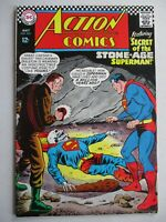 ACTION COMICS #350 Stone Age Superman! Silver Age 12 cent