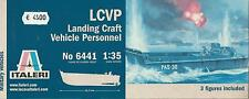 KIT ITALERI 1:35 MEZZO MILITARE LCVP LANDING CRAFT VEHICLE PERSONNEL  ART 6441