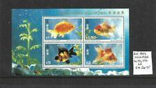 Hong Kong 1993 Goldfish min sheet MNH