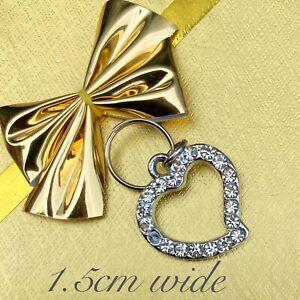 🌟Rhinestone Heart Pet Collar Charm🌟