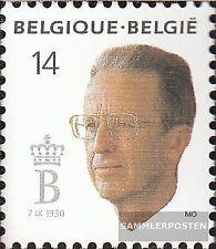 Bélgica 2434 (compl.edición) nuevo con goma original 1990 rey balduino