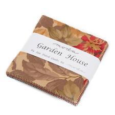 "Moda Charm Pack~Garden House ~Jan Patek ~5""x 5"" Squares~100% Cotton"