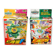 Rare Beyblade A-1 Dragon S +A-32 Dracel F Spin Gear System Topblade W Launcher