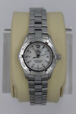 Tag Heuer WAF1414.BA0823 MOP Mother of Pearl Aquaracer Watch Womens MINT CRYSTAL