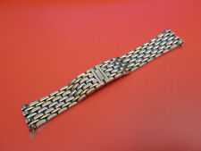 GENUINE Jaeger LeCoultre REVERSO SOLID 18K / STEEL 17MM 16.8MM BAND BRACELET