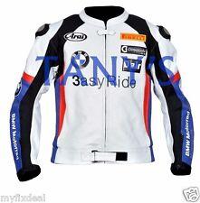 Leon Haslam  BMW 2011 Motorcycle Motorbike Racing Leather Jacket