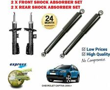 FOR CHEVROLET CAPTIVA 2006->NEW 2 X FRONT AND 2X REAR SHOCK ABSORBER SHOCKER SET
