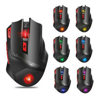 2.4G Rechargeable Optical Wireless Gaming Mouse with 7 Bright Colors LED Backlit
