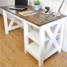 Ofiice Disk Plans office desk with a farmhouse feel