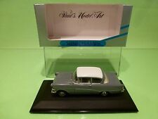 MINICHAMPS 43201 OPEL REKORD P1 1958-1960 2 DOORS - GREY 1:43 - NEAR MINT IN BOX