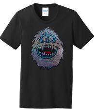 Women's Abominable Snowman Christmas Ladies Tee Shirt T-Shirt S-4Xl