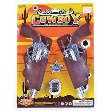 COWBOY HOLSTER & GUN SET CHILD FANCY DRESS ACCESSSORY