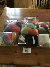 Extra Large Needle Felting Kit. Alpaca And Sheep Fibre/wool