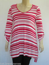 Viscose 3/4 Sleeve Striped Tops & Blouses for Women