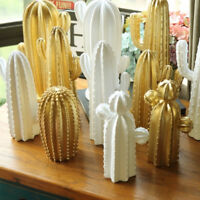 Assorted Resin Cactus Statue Figurine Decorative Sculpture Art Crafts Gift