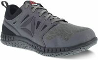 Reebok Work Mens Zprint work Low Top Lace Up Running, Dark Grey, Size 9.0 Z6aa