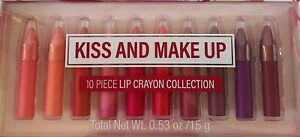 10pcs Lip Crayon Collection