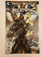Nightwing #8 VF/NM 1st Print DC New 52 Kyle Higgins Night of the Owls