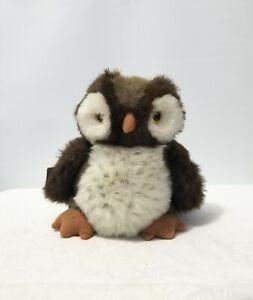 """Princess Soft Toys 10"""" Barn Hooter Owl Plush Stuffed AnimalMade Korea W Tags"""