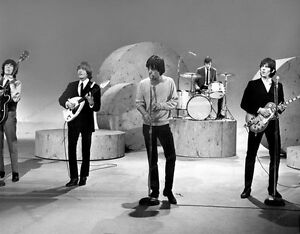 8x10 Print The Rolling Stones Performing 1960's #RS022
