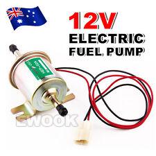OZ K Lightweight 12V Electric Fuel Pump HEP-02 AU Bolt Fixing Wire Diesel Petrol