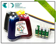 PIGMENT RIHAC CISS System for Epson WF-2760 WF-2750 printers 220 Ink Cartridges