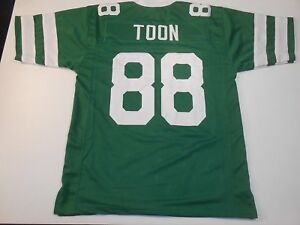 UNSIGNED CUSTOM Sewn Stitched Al Toon Green Jersey - M, L, XL, 2XL