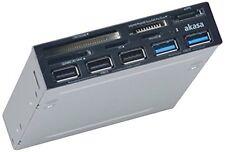 Ainekkusu 3.5-inch bay multi-front I / O panel Ak-Icr-16A