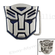 Transformers Autobot LOGO Removable Metal Belt Buckle