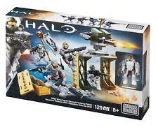 MEGA BLOKS HALO Set 38376 129 pcs UNSC Victor Squad White Soldiers & Weapons
