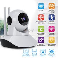 WIFI Cámara de Seguridad IP Inalámbrica Vigilancia Nocturna de la Red de 720P HD