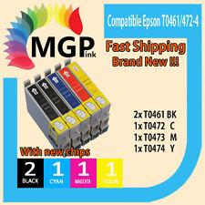 5x T0461 T0472 T0473 T0474 INK Cartridge For Epson Stylus C63 C65 CX6300 CX6500