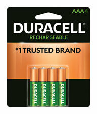 Duracell Rechargeable NiMh Aaa 1.4 volt Rechargeable Battery Dcnlaaa4Bcd 4 pk