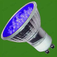 4x 2W+ LED GU10 Farbig Spot Glühbirnen, Rot, Gelb, Blau & Grün, Down Lampe