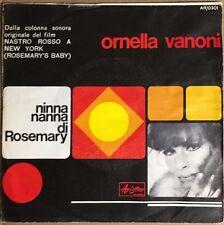 """ORNELLA VANONI OST NINNA NANNA DI ROSEMARY/E FIGURATI SE ITALIAN 7"""" EP PS"""