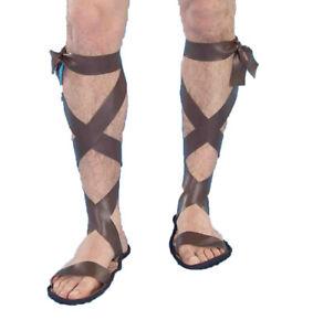 Roman Mens Adult Soldier Greek Halloween Costume Sandals