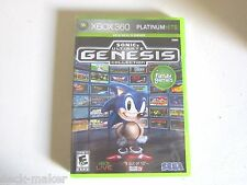Sonic's Ultimate Genesis Collection (Microsoft Xbox 360, 2009) Brand New.